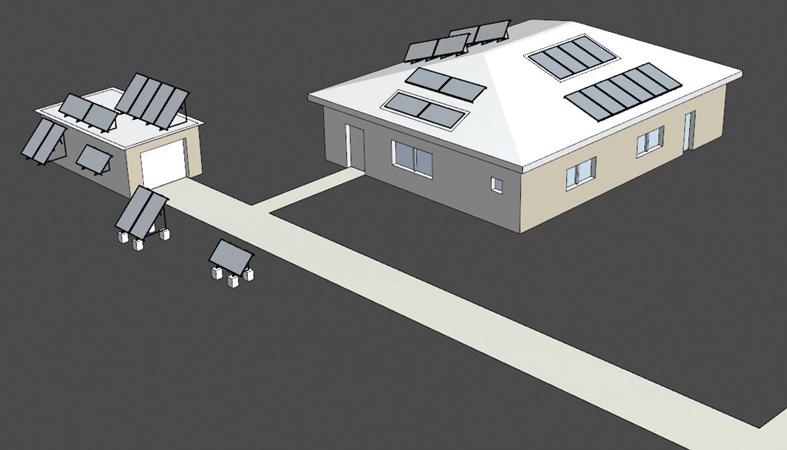Slnečné kolektory si nájdu miesto aj na vašom dome