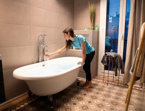 Teplota vody 39°: Relax v kúpeľni vďaka kondenzačnému kotlu