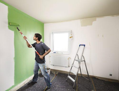 Ako vymaľovať interiér