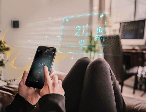 Nový inteligentný priestorový termostat RDS110.R od spoločnosti SIEMENS