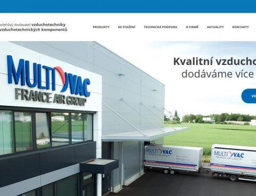 Nový web Multi-VAC