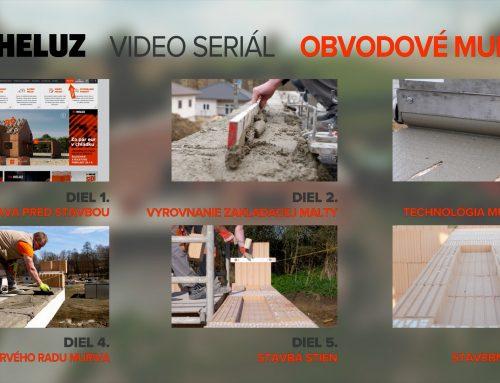 HELUZ natočil seriál ako videonávod pre hrubú stavbu domu: 1.diel