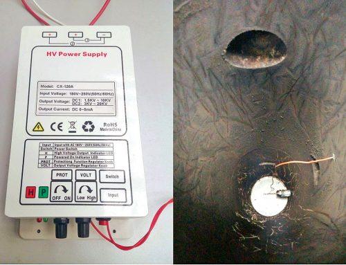 Znižovanie emisií tuhých znečisťujúcich látok v malých zdrojoch tepla na tuhé palivá pomocou elektrostatického odlučovača