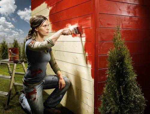 Ako nanášať lazúry a krycie farby na drevo