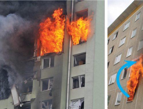 Vplyv ETICS na rozvoj požiaru v bytových a rodinných domoch pri reálnych požiaroch