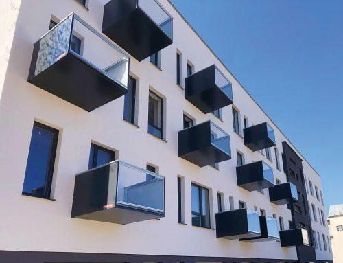 Technické riešenia balkónov firmy PEKSTRA