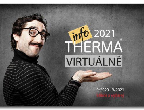 Infotherma 2021 virtuálně na www.infoterma.cz. Infotherma 2022 v lednu na výstavišti v Ostravě.