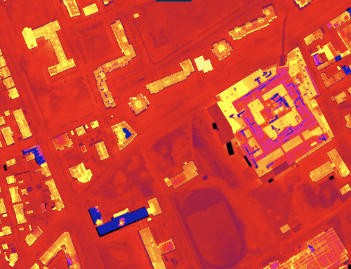 Místa s úniky tepla odhalí analýza leteckých snímků. Problémy nejčastěji dělají stará okna, ale i špatně zapojená fotovoltaika