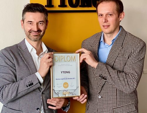 Značka Ytong získala cenu Business Superbrands 2021