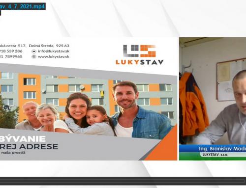 """Spoločnosť LUKYSTAV, s.r.o. sa na seminári """"Čo zaujíma správcov"""" zamerala na budúcnosť bytových domov po ich obnove"""