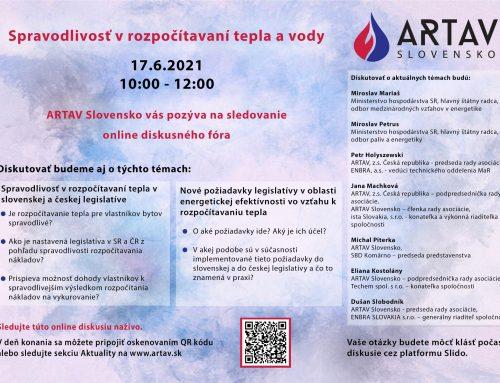 ARTAV Slovensko – Spravodlivosť v rozpočítavaní tepla a vody