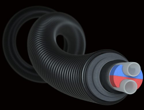 Uponor predstavuje inovatívne potrubia pre centrálne zásobovanie teplom