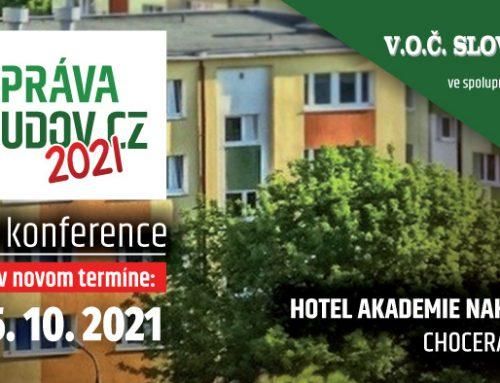 Presun termínu konferencie ,,Správa budov CZ 2021″