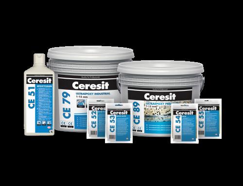 Nové epoxidové škárovacie hmoty a lepidlá Ceresit prinášajú revolúciu v stabilite farieb, odolnosti a v komforte pri práci