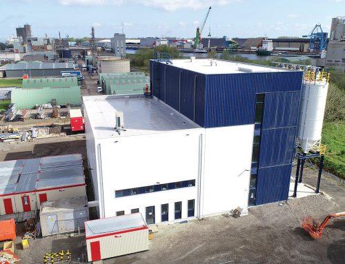Otvorenie nového závodu na recykláciu odpadu z expandovaného polystyrénu z demolácií